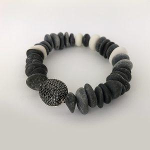 bracciale con diamanti neri 1