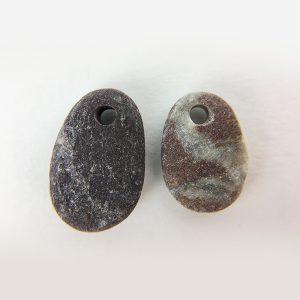 coppi di sassi per orecchini 3